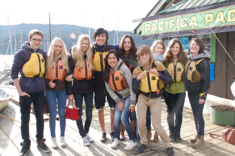 07 Kayak fahren mit den Internationals