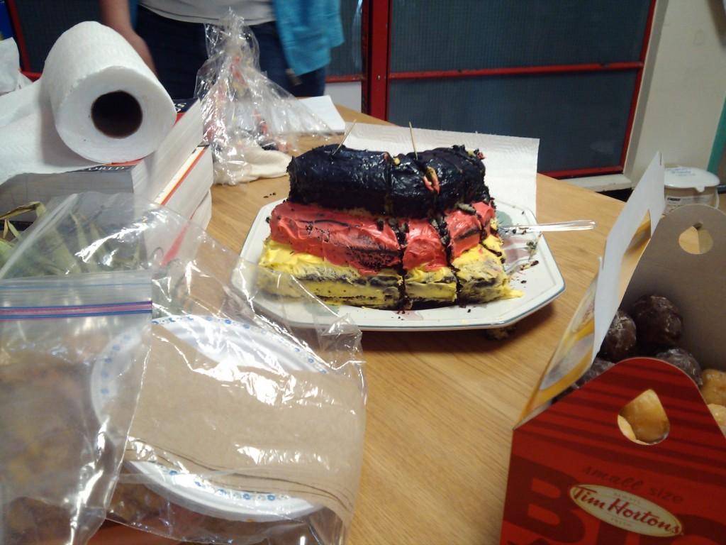 Abschiedskuchen von meiner Englishklasse