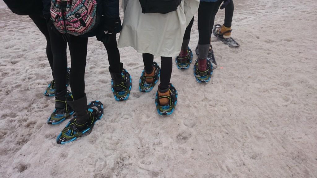 Schneeschuhwandern auf Grouse Mountain